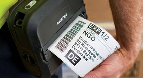 Brother Industrial Label Printer