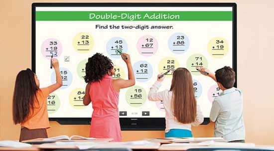 A full range of versatile interactive display solutions